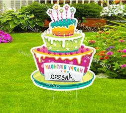 Happy Birthday Yard Sign, Honk Its My Birthday Cake Garden D
