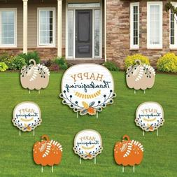 Big Dot of Happiness Happy Thanksgiving - Yard Sign and Outd