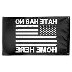 Hate Has No Home Here 100% Polyester House Flag Decorative G