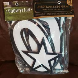 Hollywood Staked Letters Yard Sign Party Supply Amscan Hallo