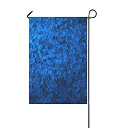 RYUIFI Home Decorative Outdoor Double Sided Metal Texture Bl