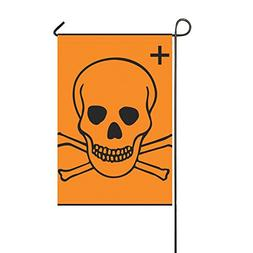 Home Decorative Outdoor Double Sided Warning Hazard Caution