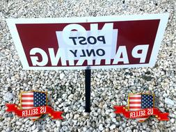 """Home Yard Sign Stake Post 10"""" For Lawn ADT Security Beware o"""
