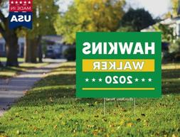 Howie Hawkins 2020 President Vote Green Party Yard Sign 18x1