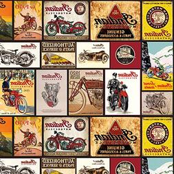 Indian Vintage Signs from The Indian Motorcycle Collection b