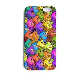 iPhone 6 Case,iPhone 6s Case Colorful Mini Rooster Animals S