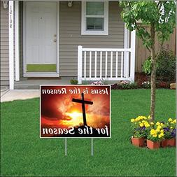 VictoryStore Jesus Is the Reason for the Season Easter Lawn