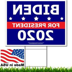 Joe Biden 2020 - Political Campaign Yard Sign w/Stake - Doub