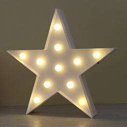 DELICORE JUHUI Marquee Light Star Shaped LED Plastic Sign-Li