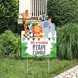 Big Dot of Happiness Jungle Party Animals - Party Decoration