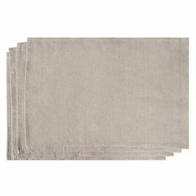4 pack blank rectangle burlap diy garden