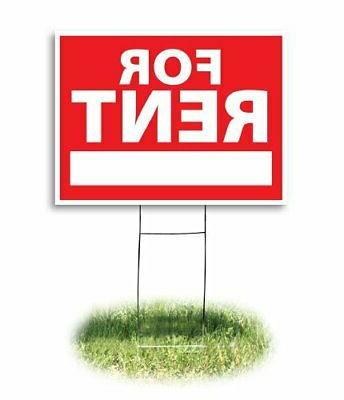 Headline Sign 4729 Yard Sign, For Rent, 18 Inches by 24 Inch