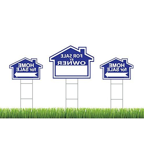 Sam's Signs For Sale By Owner Sign Kit - 3 Double Sided Sign