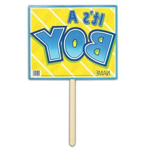 a yard sign party accessory