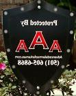 AAA Home Security Yard Sign