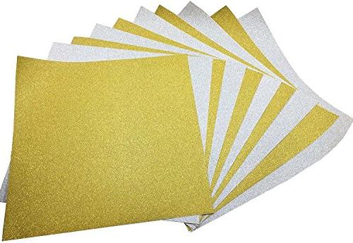 adhesive sheets glitter paper