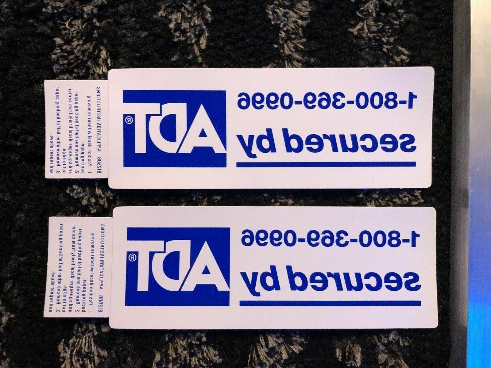 ADT Yard Sign and Sided
