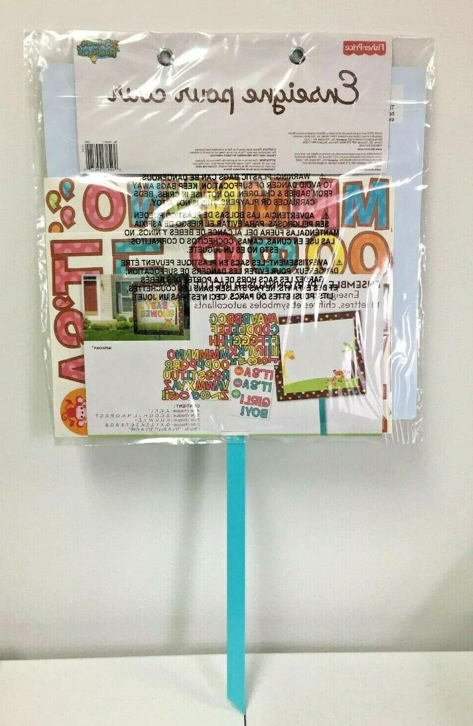 Baby Yard Kit: Customizable letters,numbers,symbols