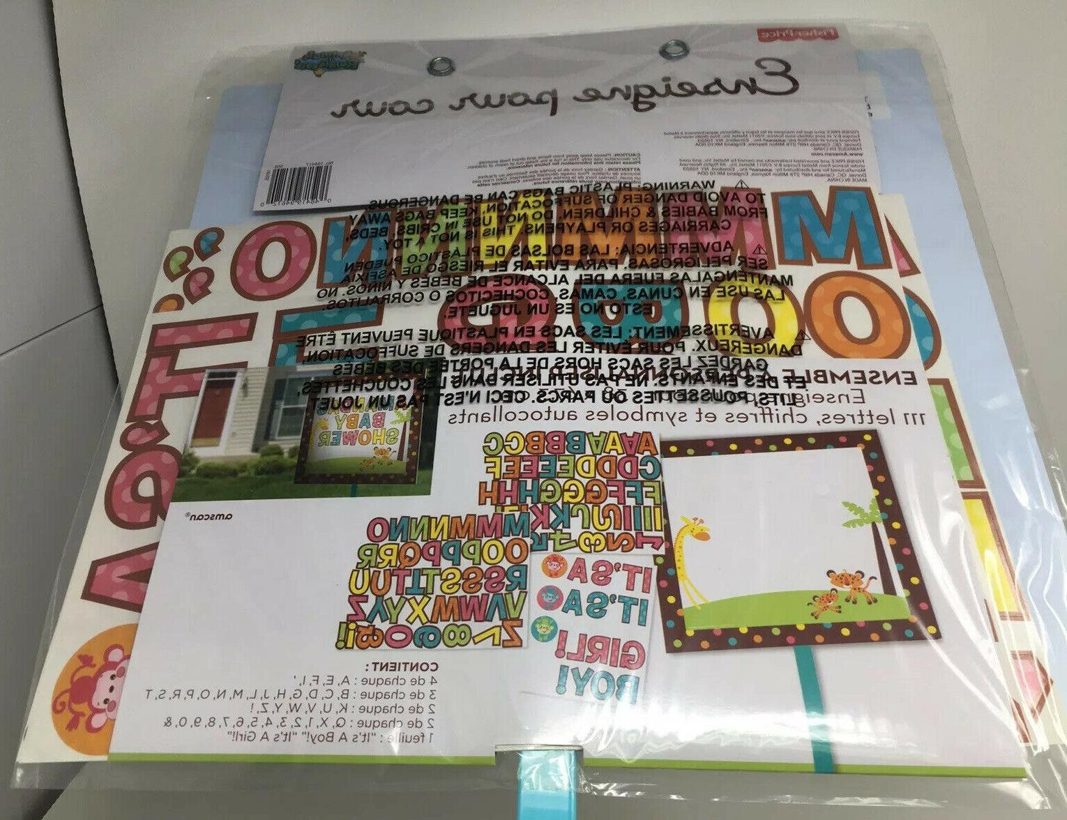Baby Kit: Customizable 111 Adhesive letters,numbers,symbols