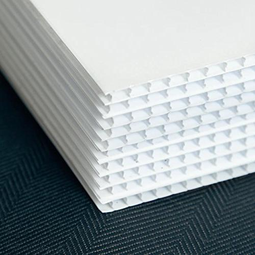 Coroplast Cage 18 x Corrugated Plastic - Plastic Sheets Coroplast Panels A-Frame Signs - 6