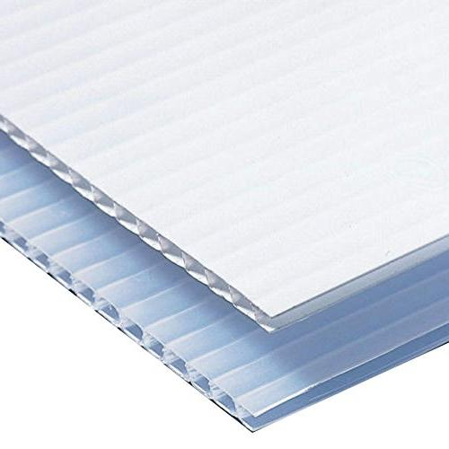 Coroplast Pig Cage Corrugated Plastic Boards - Blank Coroplast Sheets Panels for A-Frame Signs 6