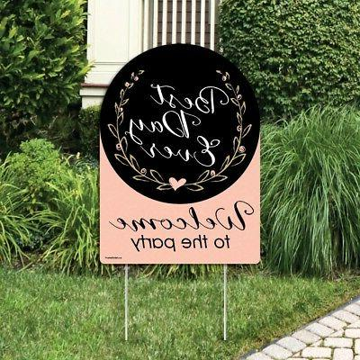 Big Best Day Party - Shower Welcome Yard