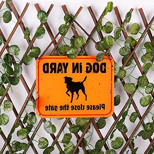 WaaHome Dog Please The Sign for X