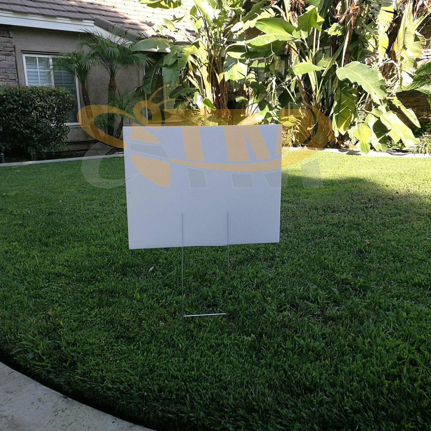 MTB H Stakes wire Yard Sign
