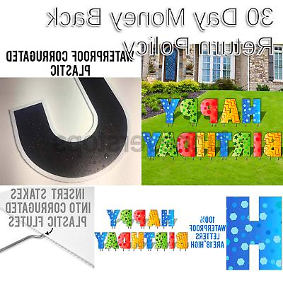 VictoryStore Yard Lawn Letters Yard of