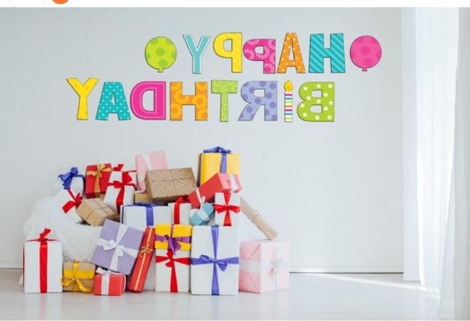 """Happy Party Sign 18"""" Outdoor"""