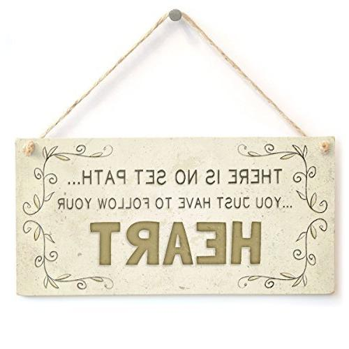 home decor plaque sign set