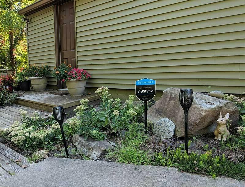 Simplisafe Security Alarm Yard Sign Extensions Package