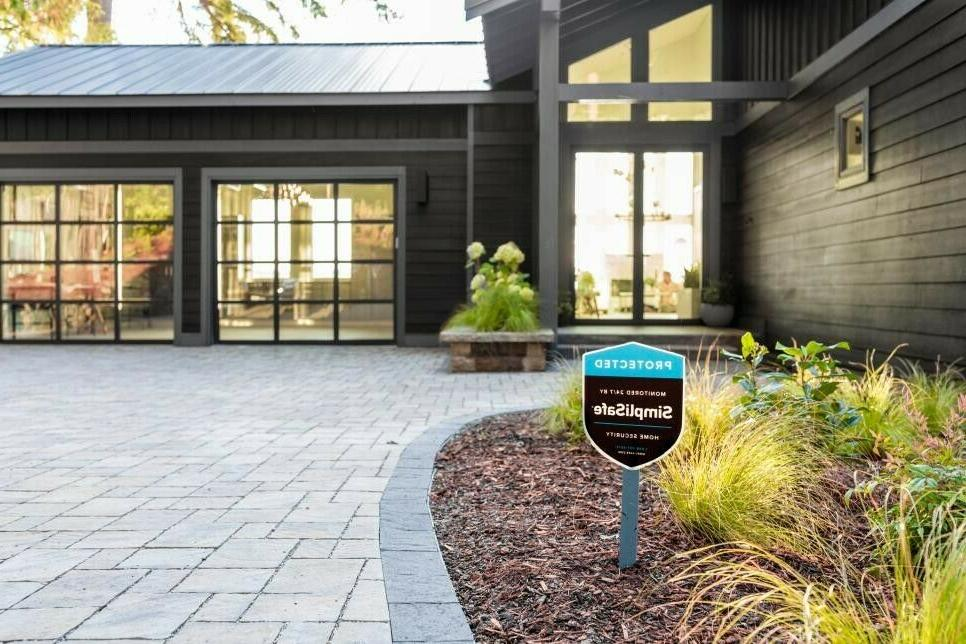 Simplisafe Security Yard Sign With Extensions