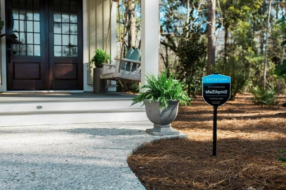 Simplisafe Home Security Yard With Stake Extensions Package