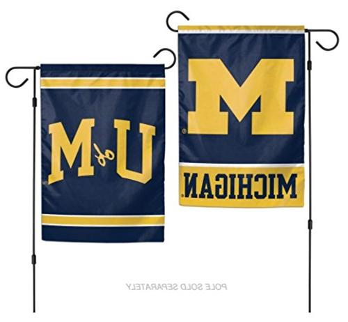 ncaa michigan wolverines 2 sided