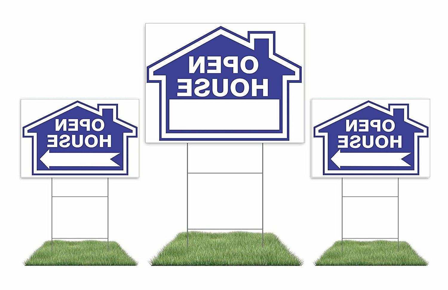 """Large Sign, 18"""" 24"""" Yard Sign, 12"""" Directional"""