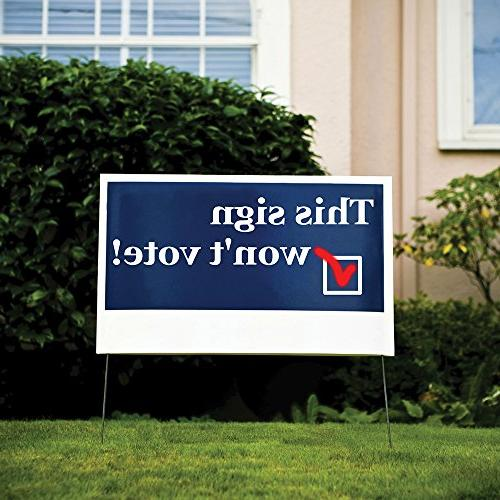 Bannerbuzz Personalized Yard Signs 9 X 12