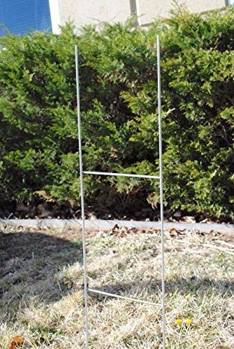 10 Garage Political, Tournaments, Frame Wire Stakes - Yard Stake Use with 4mm