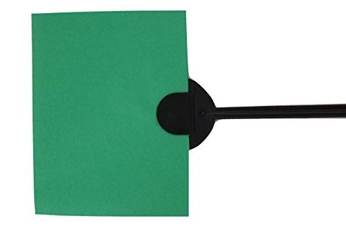 Reusable Molded Step Push Stake Sign