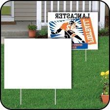 VictoryStore Outdoor Sign Lawn Decorations, Corrugated Plast