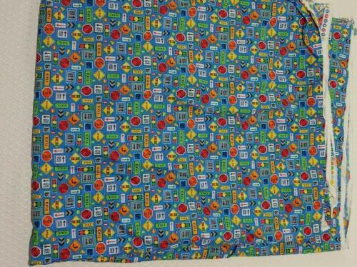 Truck Stop One Way Cotton Fabric Fabriquilt 3