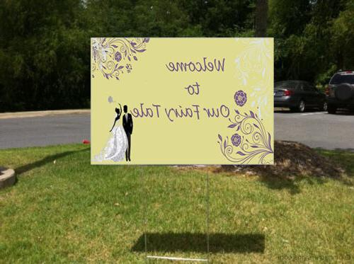 Wedding To Our Fairy Yard /FREE