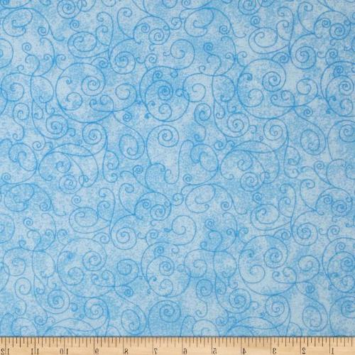 wide flannel quilt back willow