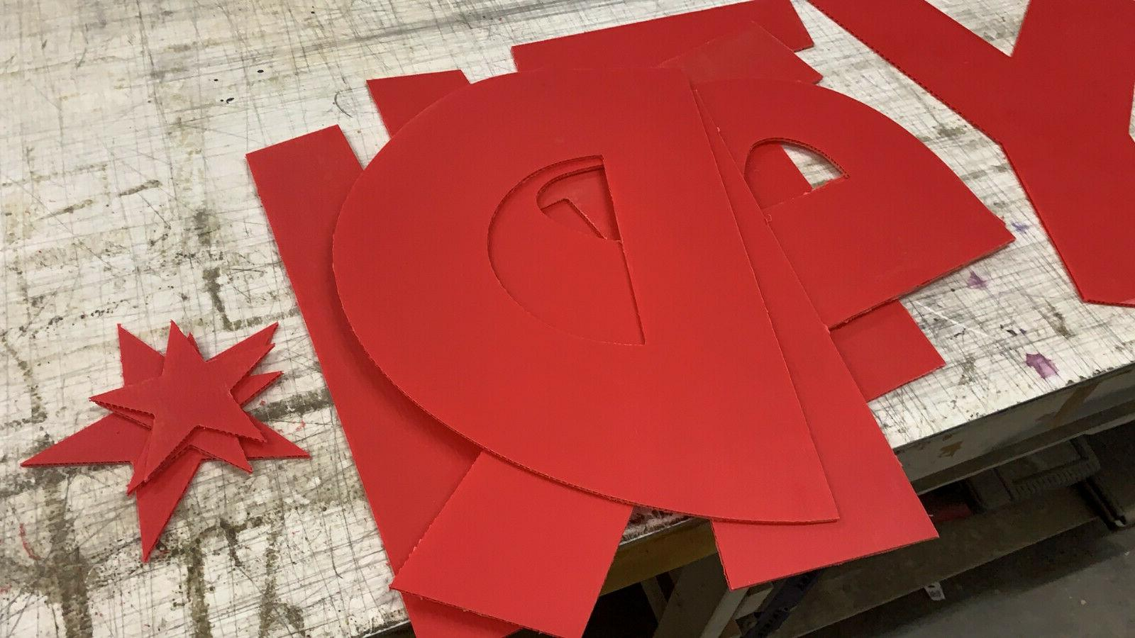 Yard Letters Letter Package - Tall coroplast -