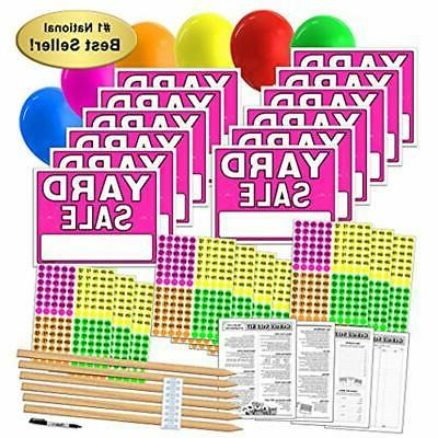 yard sale sign and poster kits