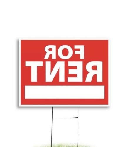 yard sign for rent 18 x 24