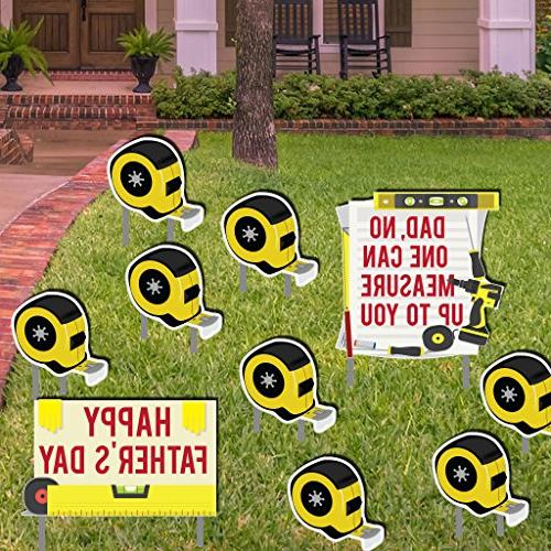 yard sign lawn decorations fathers