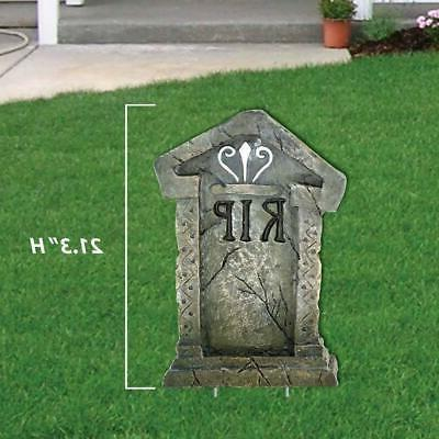 Lawn Decorations -  Fake Tombstones Halloween