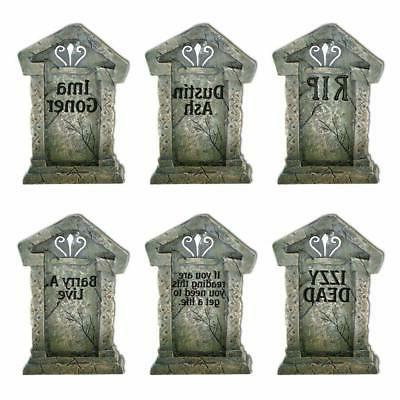 yard sign outdoor lawn decorations fake tombstones