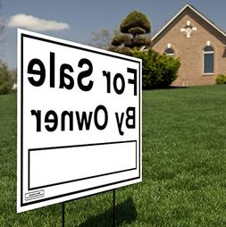 Large 24x18 - House For Sale by Owner Yard Sign / Lawn Signa